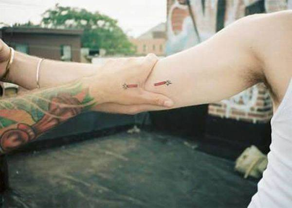 Creative and Simple Couple Tattoos