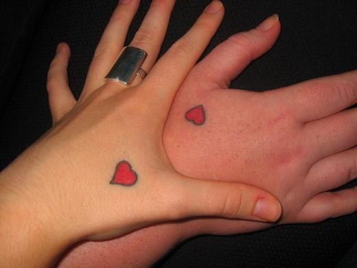 Unique Love Tattoo Designs For Couples