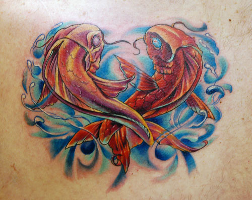The Married Couple Symbolic Tattoos