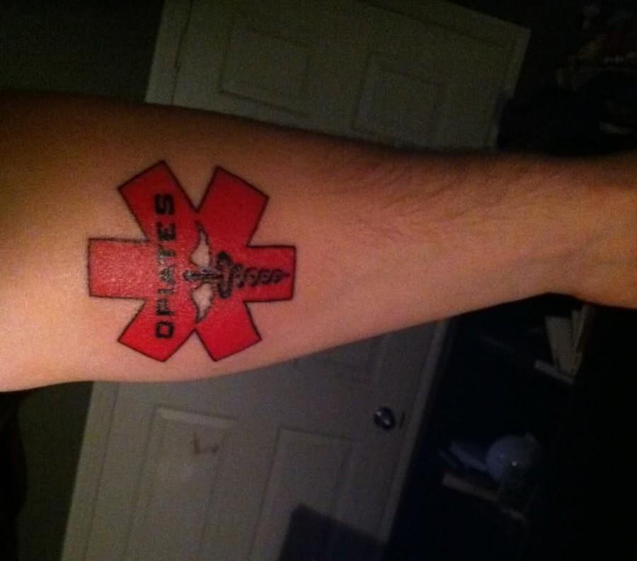 Bungie Off Topic The Flood Medic Alert Tattoo I Got It