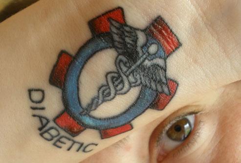 Diabetes Alert Id  Diabetes Tattoo