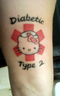Ideas For A Hello Kitty Medical Alert Tattoo Type 2