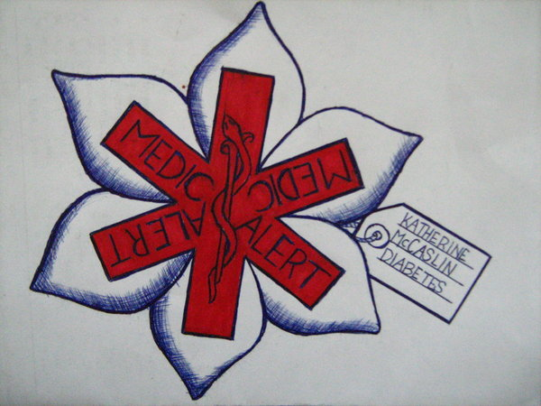 Medic Alert Tattoo Art Design