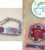 Medic Alert Tattoos Replacing Bracelets With Ink