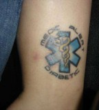 Create for your body Medical Tattoos Warning