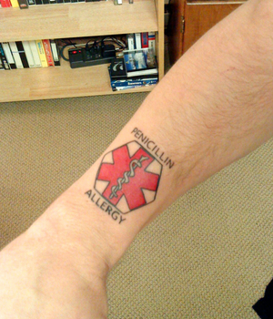 Tips On Getting A Medical Alert Tattoo Pictures