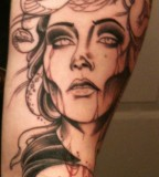 Attractive Medusa Tattoo Designs