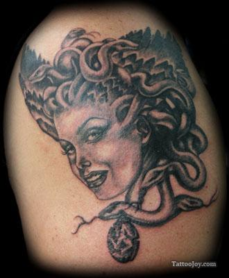 Creative Picture of Medusa Tattoo