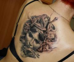 Amazing Greek Mythology Tattoo Style
