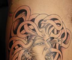 Chic Medusa Tattoo Designs