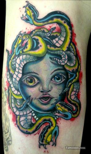 Funy Medusa Tattoo Images