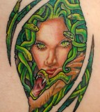 Marvelous Medusa Tattoo Photos