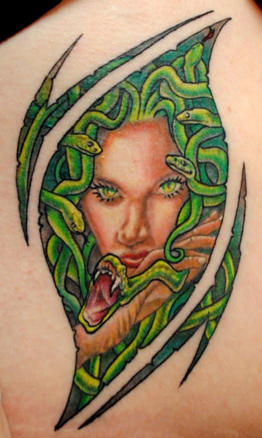 Marvelous Medusa Tattoo Photos
