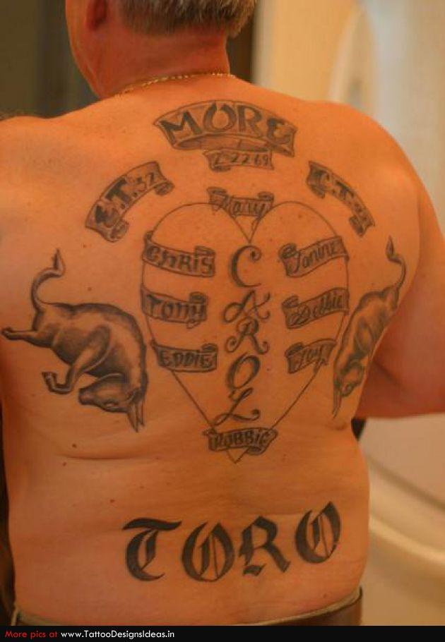 Design Of Heart Tattoos Memorial