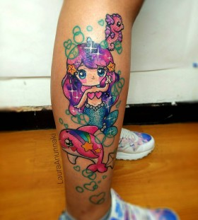 mermaid-kawaii-tattoo