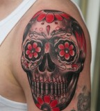 Powerful Mexican Skull Tattoo Designs - Skull Tattoos