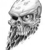 Amazing Skull Tattoos Design Sketches Art - Skull Tattoos