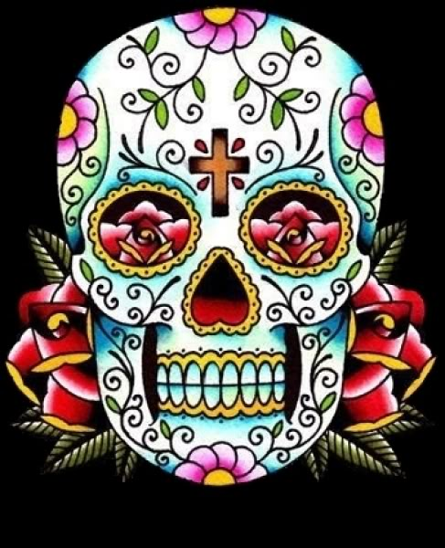 Sugar Skull Designs – Inspiration Mexican Skull Tattoo Art