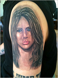 Man Has Miley Cyrus Tattoos How Many Do You Have