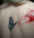 Exotic Monarch Butterfly Back-Shoulder Tattoos for Women - Tattoos for Women