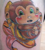 Cute Monkey Tattoos You Will Definitely Love