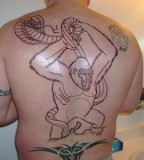 Funny Monkey Tattoos
