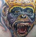 Best Monkey Tattoos Pictures