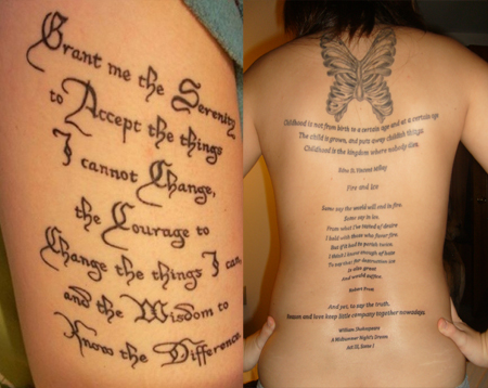 60 Tattoo Quotes Short And Inspirational Quotes For ...