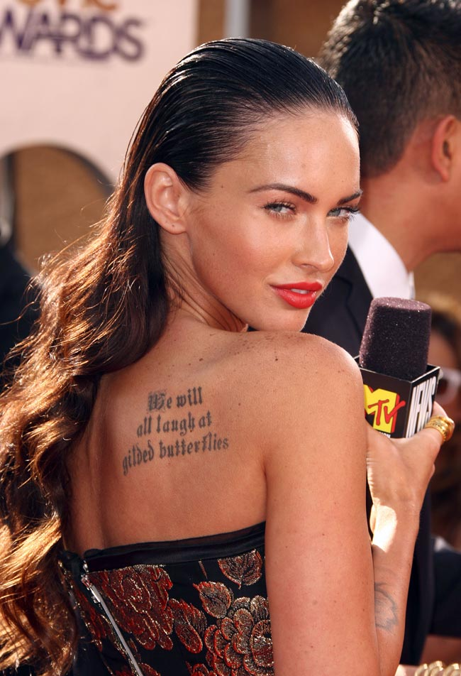 Celebitchy Blog Archive Megan Fox Fighting With Mom Over