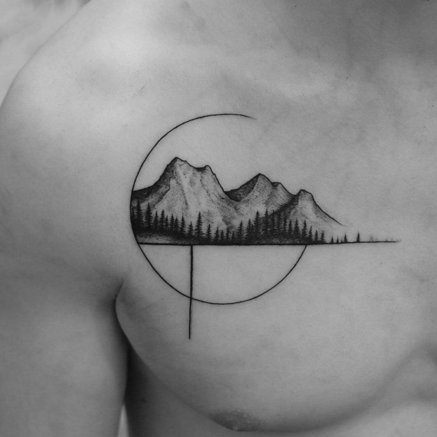 mountain-chest-tattoo-by-marian-m-m