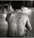 Muay Thai Tattoo Young Boxers Back Photo By Lung S Liu