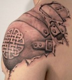 Amazing Tattoos Designs For Men With Realistic Coloring