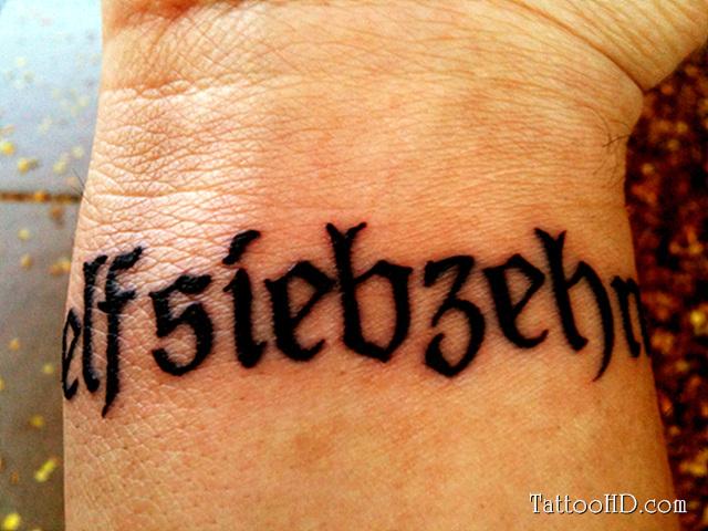 Name Wrist Tattoos