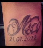 Nico Name Tattoo Design