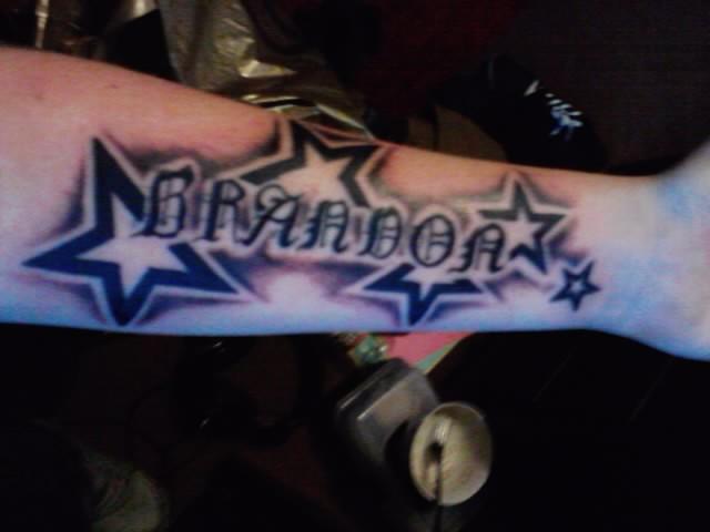 Star Name Tattoo