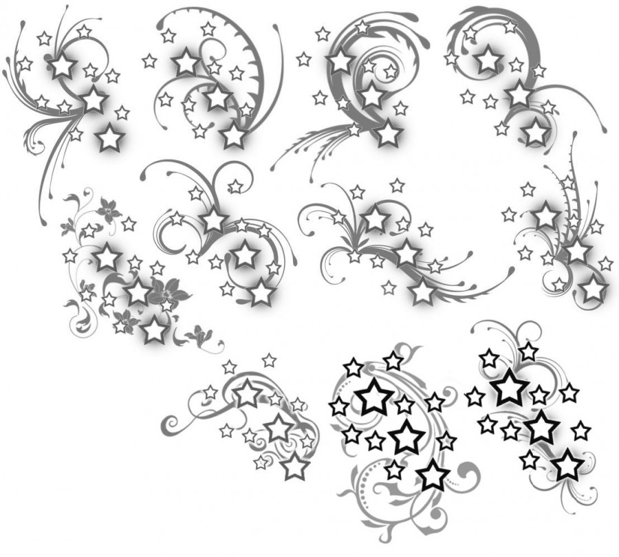 Artistic Pattern Tattoo Design