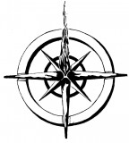 Nautical Star Compass Tattoo