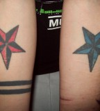 Nautical Star Tattoo Symbol