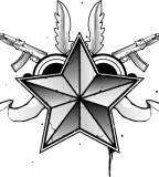 Nautical Star Tattoo Design