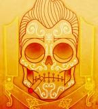 Smoking Mexican Skull Tattoo