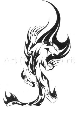 Beautiful Art Of Tattoos The Meaning Panther Tribal Tattoo