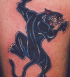 Amazing Black Panther Tattoo Ideas