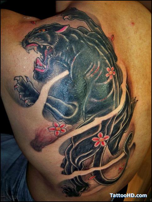 1b1341367 Best Ideas Black Panther Tattoo Meaning - | TattooMagz › Tattoo ...