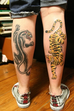 Panther Tattoos Meaning On Foots