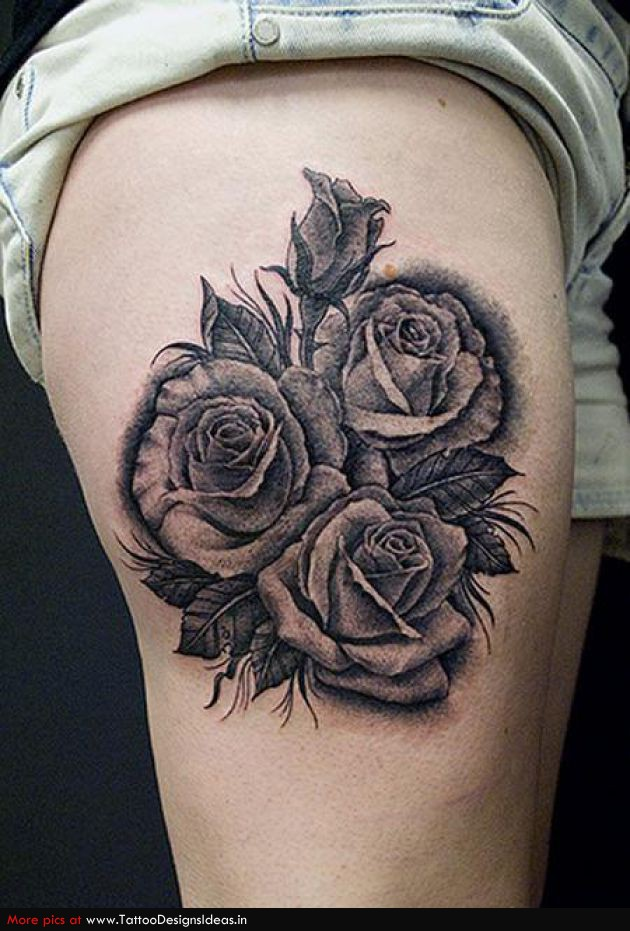 Tatto Design Of Rose Tattoos Tattoodesignsideas