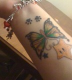 My Awesome Tattoo Mario Star Butterfly Paw Prints All Of Which