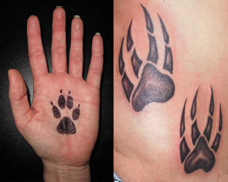 Paw Print Tattoos Ideas Designs Amp Pictures