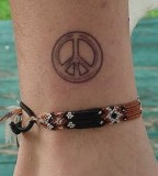 Tattoos Ideas For Girls Peace Symbol Tattoos