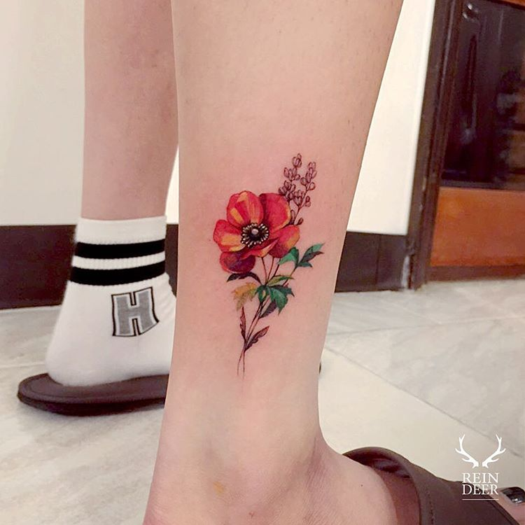 perfect-poppy-flower-tattoo