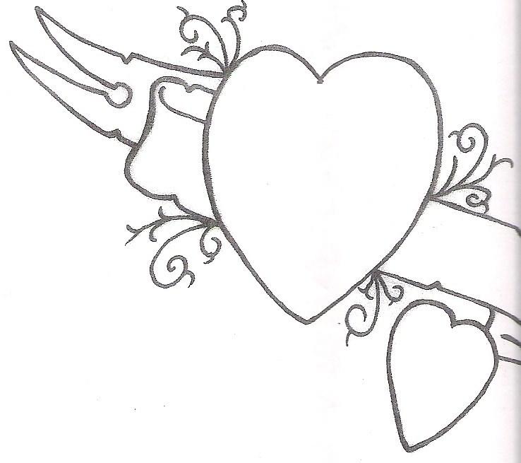 Simple Heart Tattoo Art Design Tattoomagz Tattoo Designs Ink